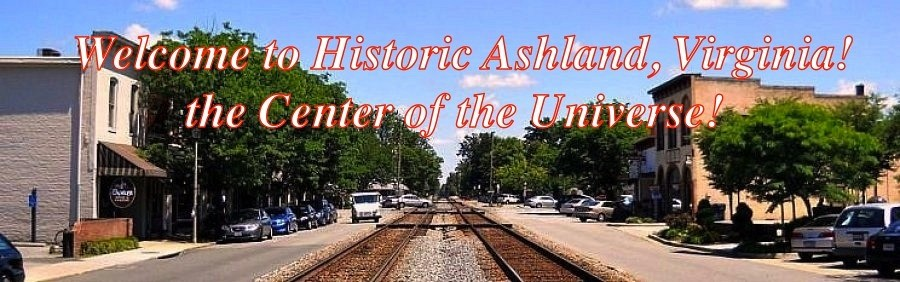 Click on Photo for Official Website of Ashland, VA